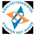 Stoppen met Roken Kwaliteitsregister logo