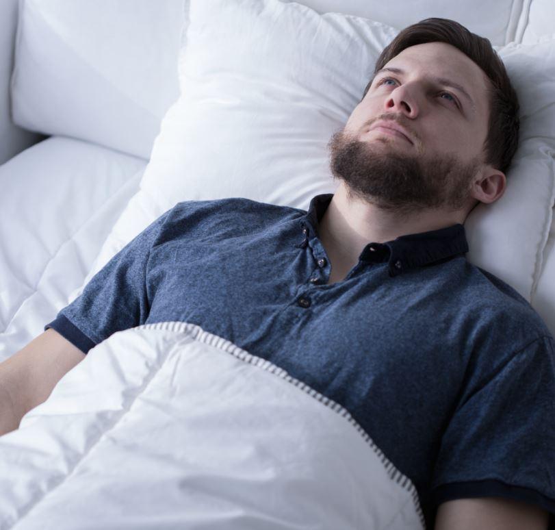 Man kan moeilijk slapen door stoppen met roken
