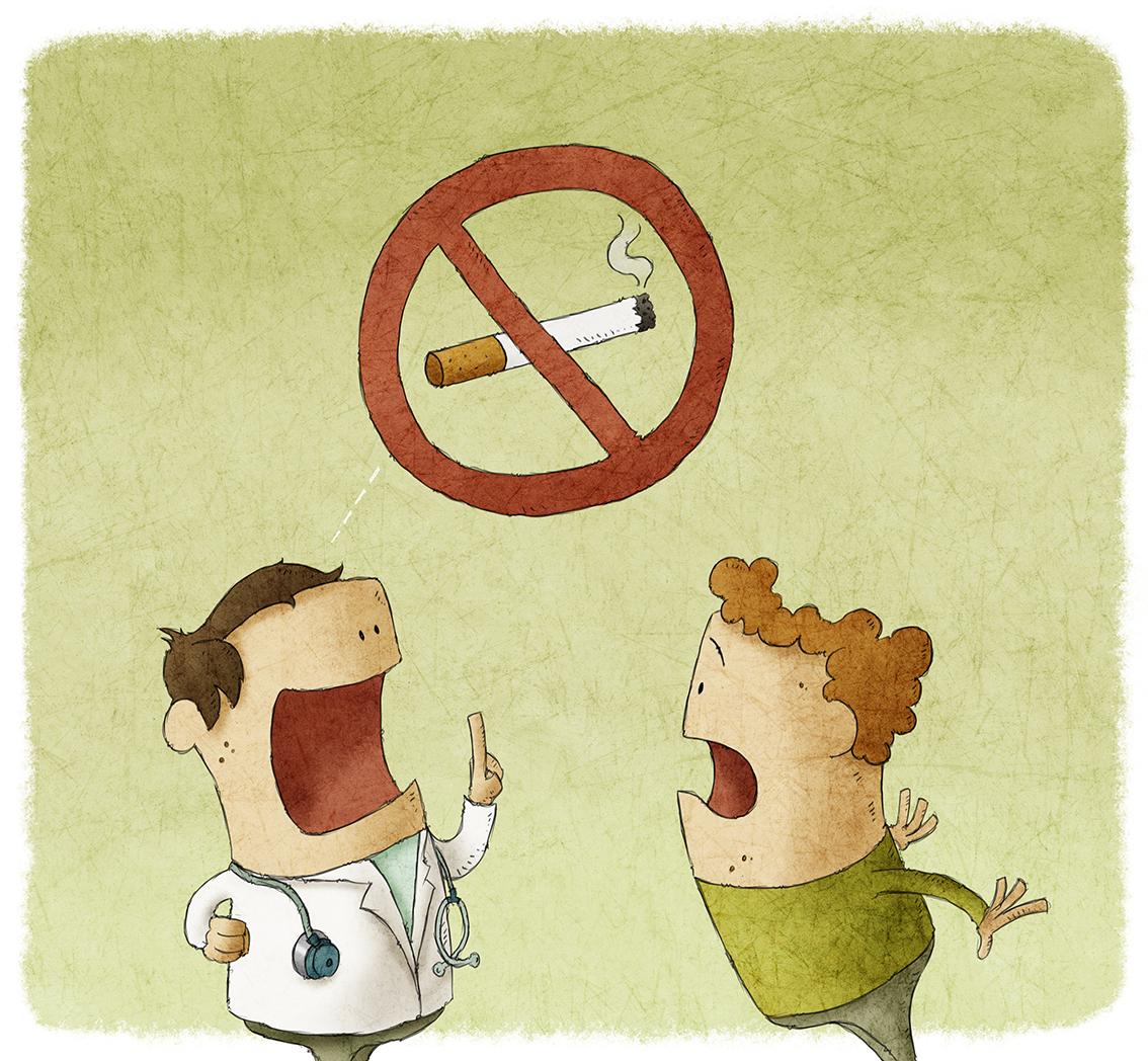 stoppen met roken eigen beslissing