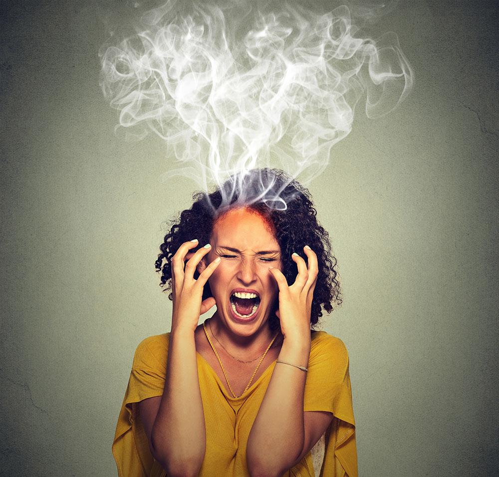stoppen met roken en boosheid