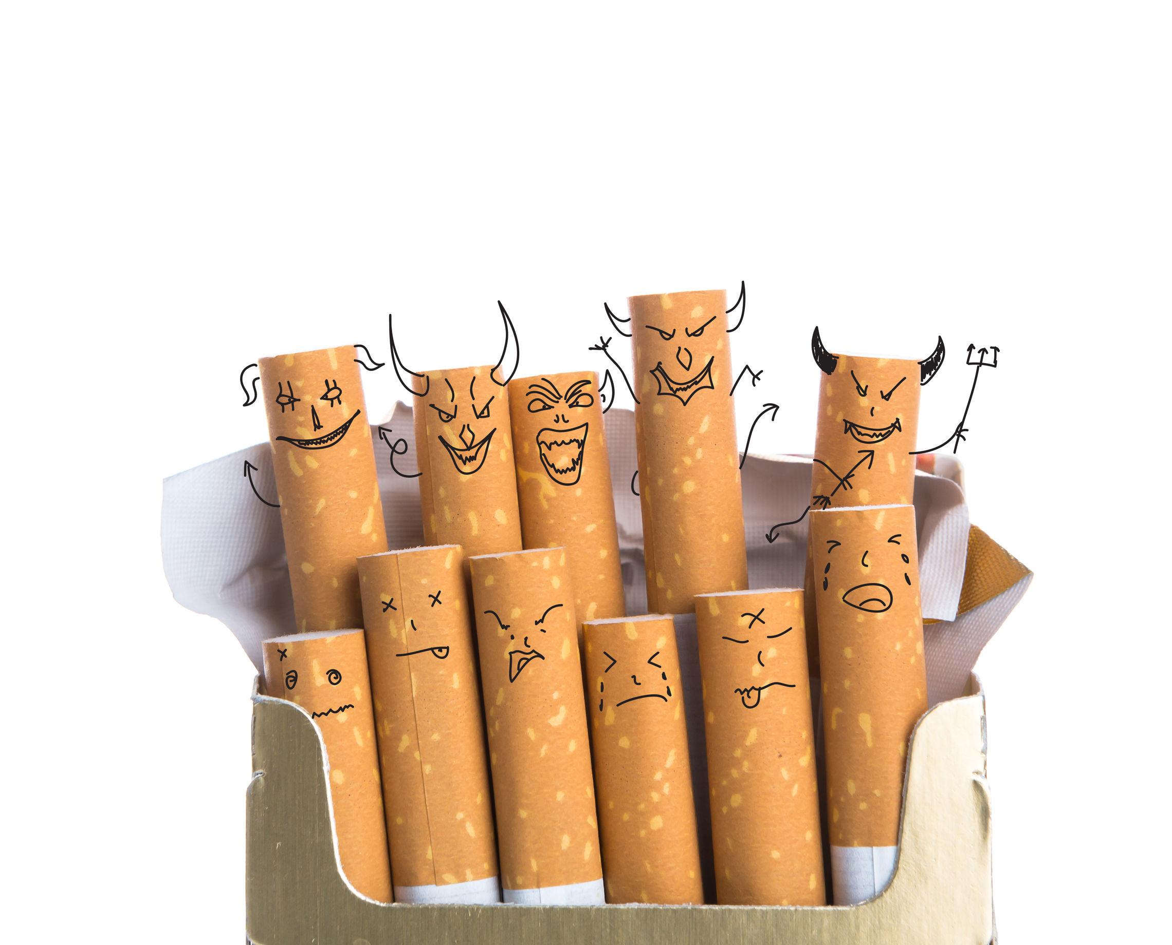 beginnende roker