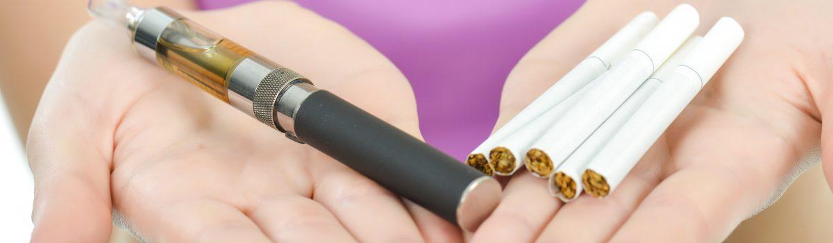 elektrische of normale sigaret