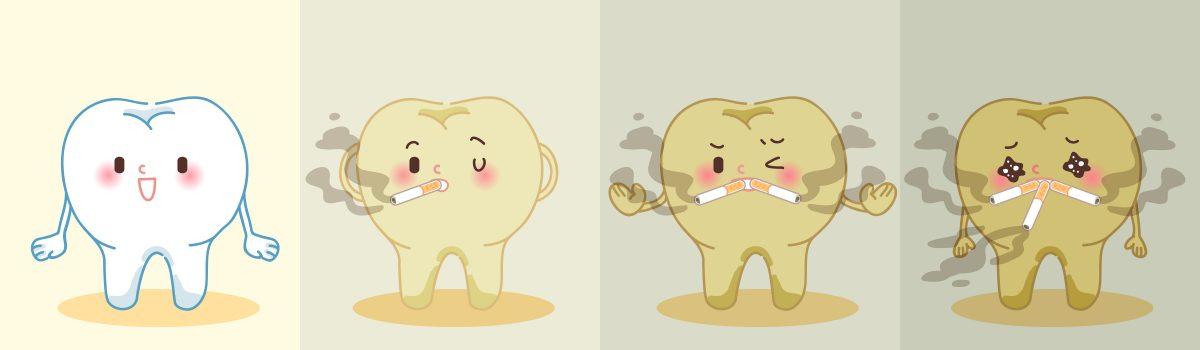 Gevolgen roken voor het gebit