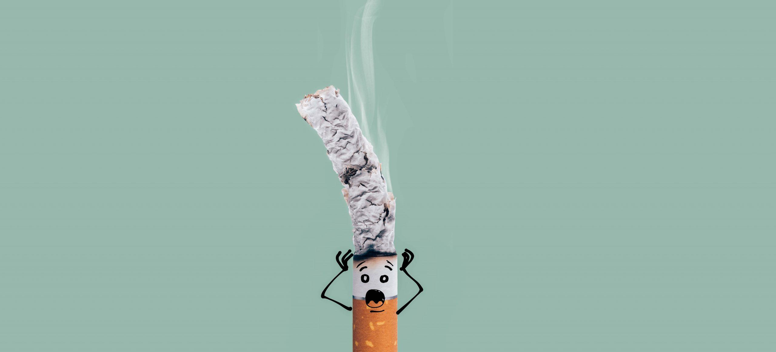 stress en spanning bij rokers